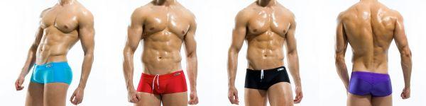 S1625 Contrast Boxers swimwear da Modus Vivendi